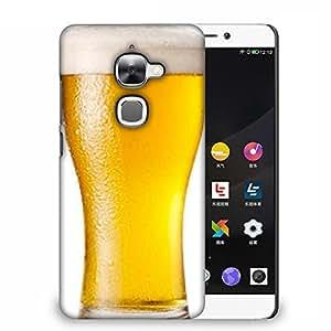 Snoogg Beer Filled In Glass Designer Protective Back Case Cover For LETV 2S
