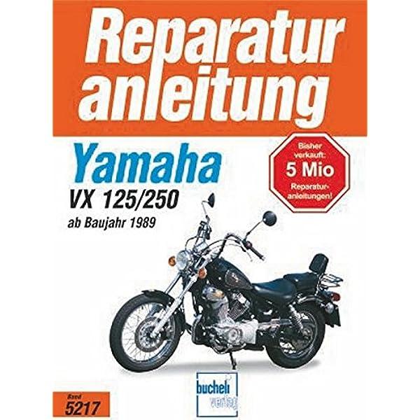 Yamaha Xv 125 250 S Ab 1989 Reparaturanleitungen Bücher