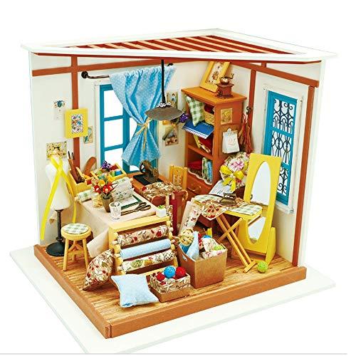 ZTXY Modello di assemblaggio Manuale Puzzle di Legno Laboratorio di Sartoria Giocattoli Scatola di imballaggio Regalo Fai da Te Fatto a Mano per Bambini Adolescenti e Adulti
