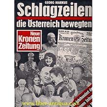 Schlagzeilen die Österreich bewegten