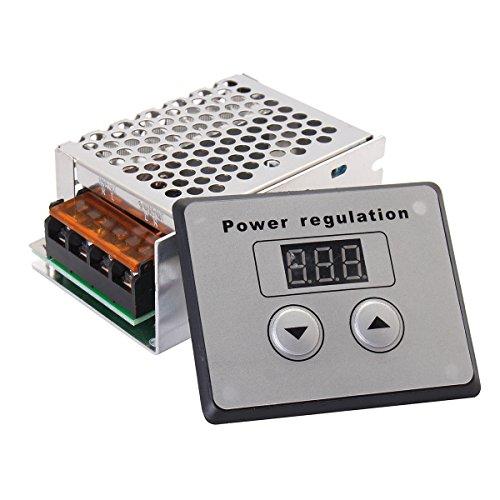 TOOGOO 4000 Watt 220 V AC SCR Spannungsregler Dimmer Elektromotor Speed Temperaturregler fuer Warmwasserbereiter Kleine Motoren -