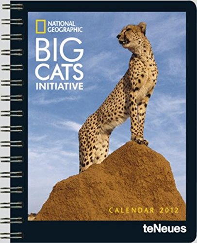 2012 National Geographic Big Cats Deluxe Diary por National National Geographic