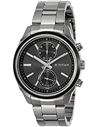 Titan Neo Analog Black Dial Men's Watch-NK1733KM01