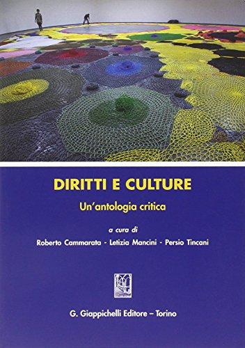 Diritti e culture. Un'antologia critica