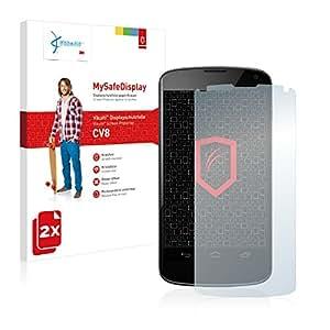 2x Vikuiti MySafeDisplay Film de protection écran CV8 adapté pour Google Nexus 4