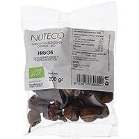 Nuteco Higos Deshidratados y Pasteurizados BIO - 12 Paquetes de 200 gr - Total: 2400