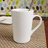 Ssby tazza da caffè in ceramica bianco puro magnesia porcellana tazza di moka enhanced domestici latte Cup