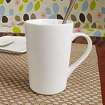ssby cerámica taza de café puro blanco Magnesia – tazas de porcelana de taza ...