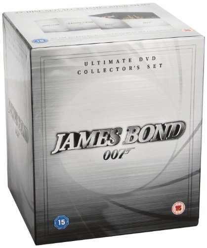 James Bond Collection (22 Dvd) [Edizione: Regno Unito] [Edizione: Regno Unito]