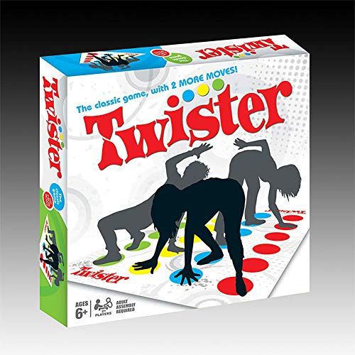 Outtybrave Classic Twister Game Kids Party Board Games Family Adulto Floor Gam Gift