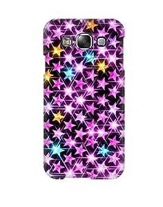 Pick Pattern Back Cover for Samsung Galaxy E5 SM-E500F (MATTE)
