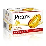 Pears Pure & Gentle Soap Bar, 3 x 125gm