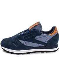 Zapatilla Sportwear Reebok CLASSIC LEATHER Azul