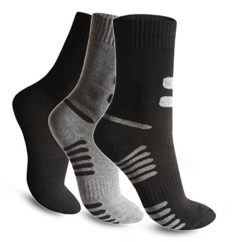 3 / 6 / 9 / 12 / 24 Paar Herren Socken Thermosocken Warme Dicke Winter Sport Ski Arbeitssocken