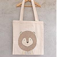 Tote Bag Petit Lion - sac enfant - sac à joujoux