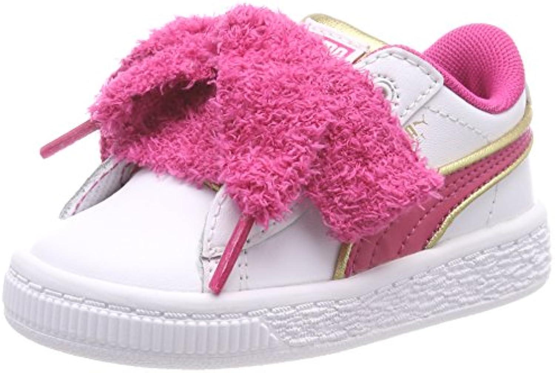 Puma Minions Basket Heart Fluffy Inf, Zapatillas para Niñas