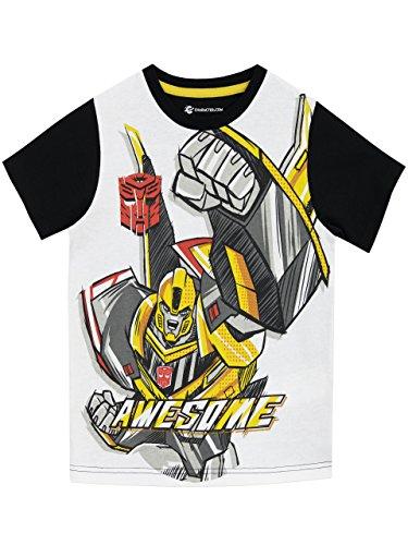 Transformers Jungen T-Shirt 134 (T-shirts Abenteuer-film)