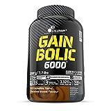 Olimp Sport Nutrition Gain Bolic 6000 Ganador de Masa Muscular, Sabor Chocolate - 3500 gr