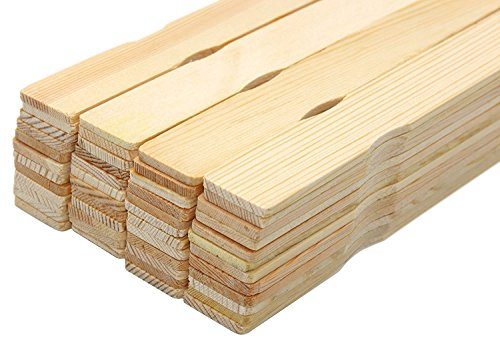 Holz Paint Stir Sticks Mixer Paddel 35,6 cm Wood Crafts Bulk 50 PCS -