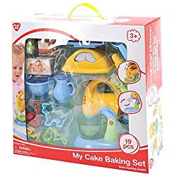 Playgo Battery Operated My Cake Baking Set (19 Piece)