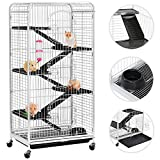 Yaheetech 52'' Large Rat Ferret Cage Chinchilla Squirrel Rabbit Home 6 Level Stable
