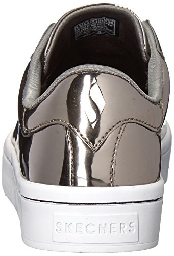 Skechers Ladies Hi Little-liquid Bling Sneaker Grau (peltro)