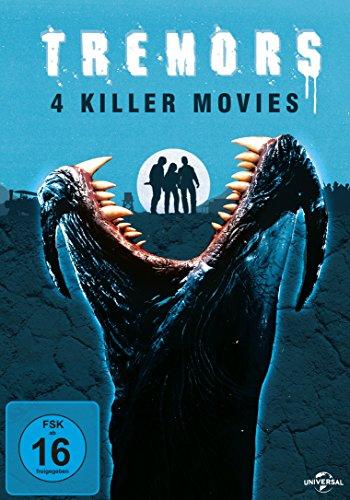 Tremors 1-4 [4 DVDs]