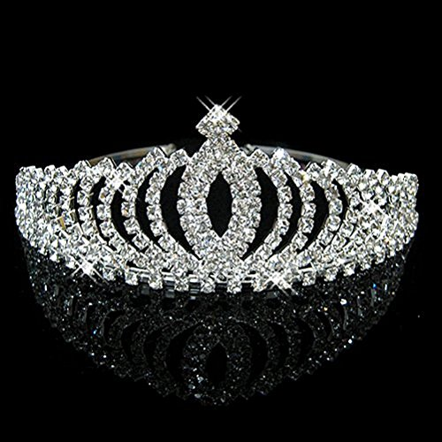 Tinksky Hochzeit Party Bridal Crown Stirnband Tiara Haarband