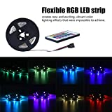 LED Streifen Licht LED Stripes USB, 5050 RGB Flexible, 12V DC Lichtleisten, LED Band, Indoor Dekoration Streifen LED für TV Hintergründe Licht DIY Holiday Party Küche Auto Bar(4M 120LED)