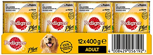 pedigree-adult-plus-hundefutter-vollkorn-huhn-in-pastete-12-dosen-12-x-400-g