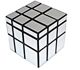 Topways® Shengshou 3x3x3 Mirror magic cube Denkaufgabe Magic Cube Lustige Educational Kunststoff Magic Cube Puzzle 57mm (Mirror Silber)
