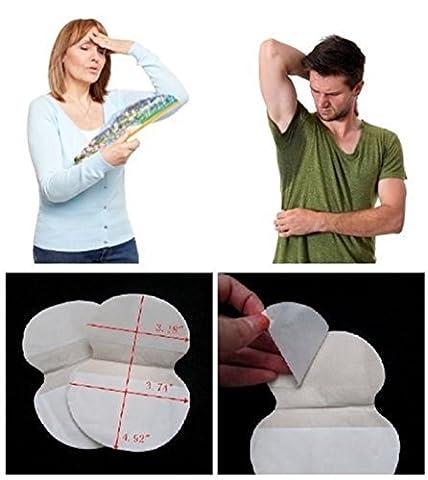 Sous le bras Antiperrspérants Sweat Pads - Pack de 10 paires (20 blocs) scellés individuellement par paires