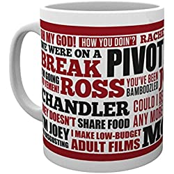 GB eye, Friends, Quotes, Taza
