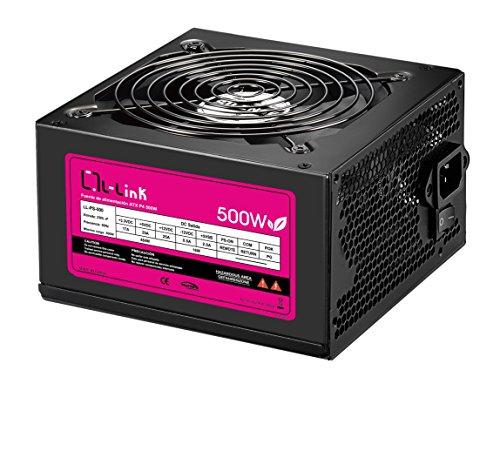 L-Link LL-PS-500 - Fuente de alimentación (500 W) color plata