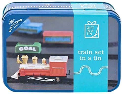 Gewonnen Gift Of The Year 2012 Spring Fair Toys | Miniatur-Spielzeug-Zug in einer Tin Set Miniatur-zug