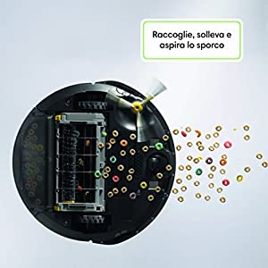 Irobot Roomba 691 Robot Aspirapolvere Sistema Di Pulizia Ad Alte