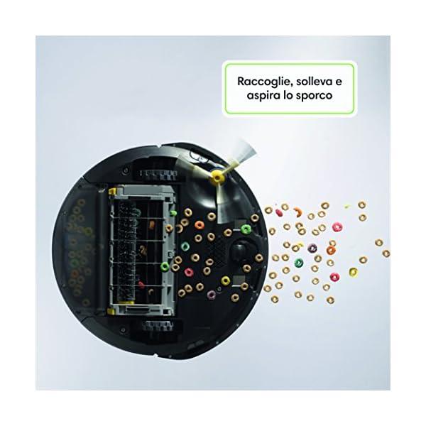 iRobot Roomba 605 Robot Aspirapolvere, Sistema di Pulizia ad Alte Prestazioni, Adatto a Pavimenti e Tappeti, Ottimo per… 3 spesavip