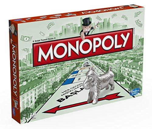 Hasbro Spiele 00009EA4 - Monopoly Classic (türkische Version), - Türkei Monopoly