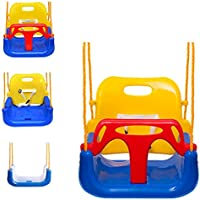 EXTSUD Babyschaukel Kinderschaukel Babysitz Verstellbar und mit wachsend Schaukelsitz Gartenschaukel für Baby und Kinder