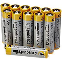 AmazonBasics AAA Performance Alkaline Batteries (12-Pack) - Packaging May Vary