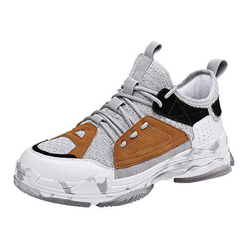 MMLC Sportive Sneaker Uomo Leggere ed Eleganti Scarpe da Corsa su Strada Uomo Scarpe da Ginnastica Slip-On Scarpe da Trail Running Uomo Respirabile