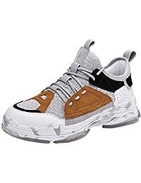 FOANA Zapatos Casuales de la Moda Tendencia de los Hombres Tejido de la Mosca Transpirable con ligereza Zapatillas de Deporte
