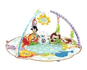 Mattel n8850 0 fisher price wunderwelt erlebnisdecke spielzeug - Tapis d eveil fisher price zoo deluxe ...