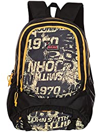 F Gear Success 30 Ltrs Yellow Casual Backpack (2519)