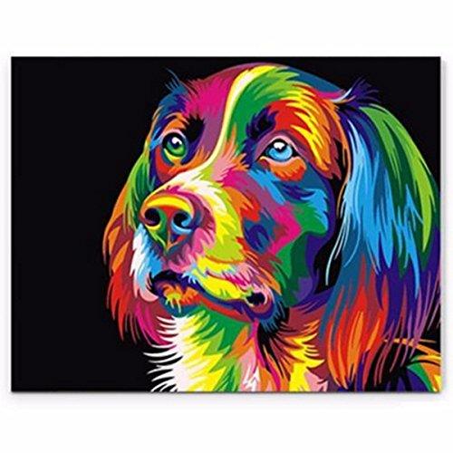 bazaar-50x40cm-perro-de-perros-coloridos-poco-animal-domestico-diy-auto-hecho-a-mano-kit-de-pintura-