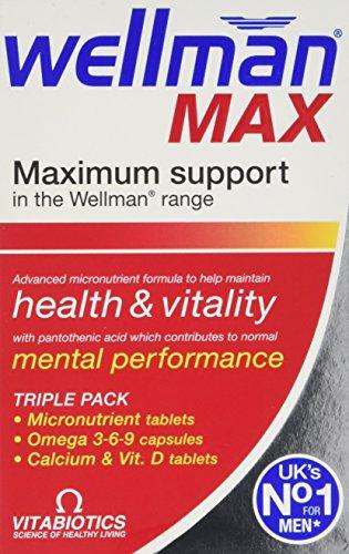 Vitabiotics Wellman Max – 84 Tablets/Capsules