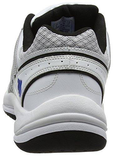 K-Swiss Vendy Ii Omni, Chaussures de Tennis Homme Blanc - White (White/Black/Silver/Electricblue 191)