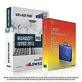 Microsoft® Office 2010 Professional Plus (PRO). Original-Lizenz. 32 bit & 64 bit. Deutsch. MS Audit Sicher + ISO DVD, Lizenz. Inkl. Papiere, Zertifiziert