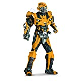 Disguise 198554 Transformers 3 Dark Of The Moon Film - Bumblebee 3D Theaterauff-hrung mit Vacuform Kost-m - Gelb - X-Large - 42-46