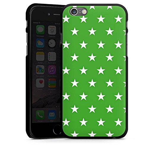 Apple iPhone 5 Housse Étui Protection Coque Étoiles Motif Motif CasDur noir